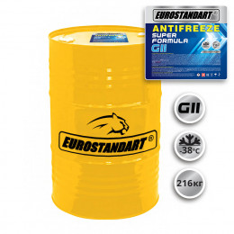 ANTIFREEZE SUPER FORMULA G11 готовый - 216кг.