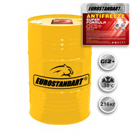 ANTIFREEZE SUPER FORMULA G12+ готовый - 216кг.