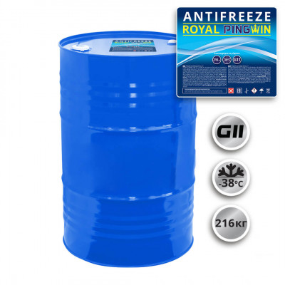 ANTIFREEZE ROYAL PINGWIN G11 готовый - 216кг.