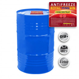 ANTIFREEZE ROYAL PINGWIN G12+ CONCENTRATE - 220кг.