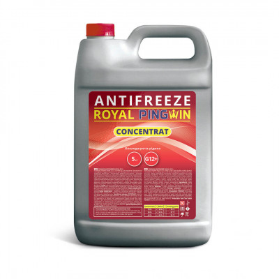 ANTIFREEZE ROYAL PINGWIN G12+ CONCENTRATE - 5кг.