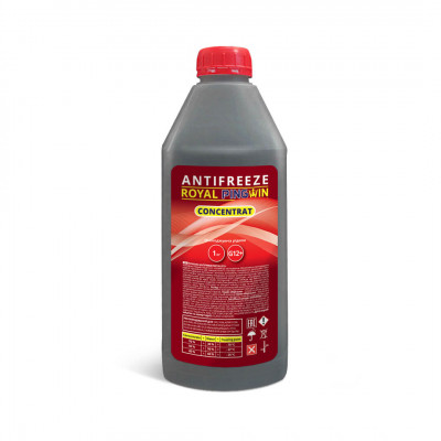 ANTIFREEZE ROYAL PINGWIN G12+ CONCENTRATE - 1кг.