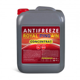 ANTIFREEZE ROYAL PINGWIN G12+ CONCENTRATE - 10кг.