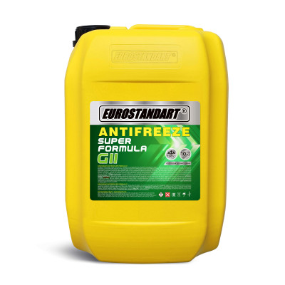 ANTIFREEZE SUPER FORMULA G11 Green готовый - 10кг.