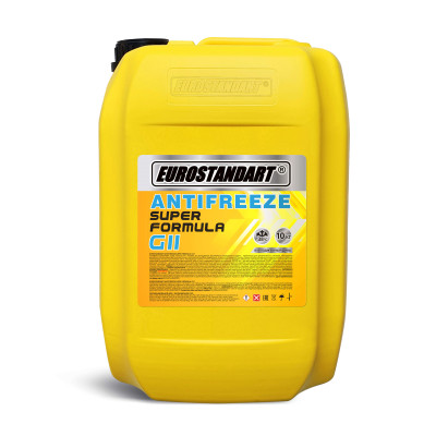 ANTIFREEZE SUPER FORMULA G11 Yellow готовый - 10кг.