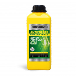 ANTIFREEZE SUPER FORMULA G11 Green CONCENTRATE - 1кг.