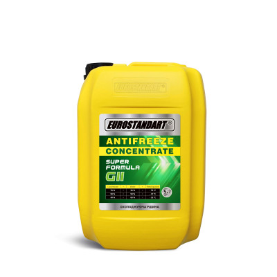 ANTIFREEZE SUPER FORMULA G11 Green CONCENTRATE - 5кг.