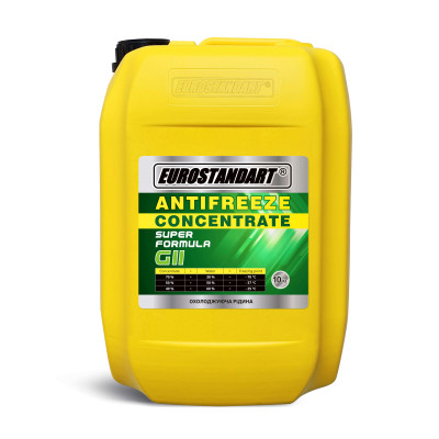 ANTIFREEZE SUPER FORMULA G11 Green CONCENTRATE - 10кг.