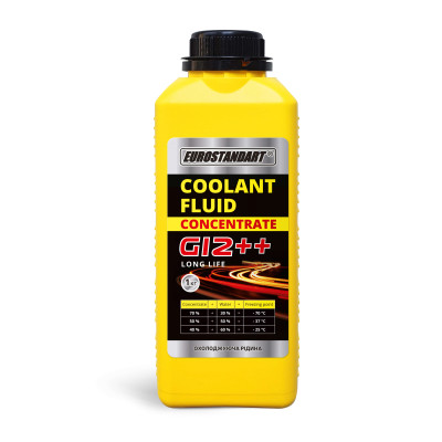 COOLANT FLUID G12++ CONCENTRATE - 1кг.