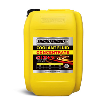 COOLANT FLUID G12++ CONCENTRATE - 10кг.